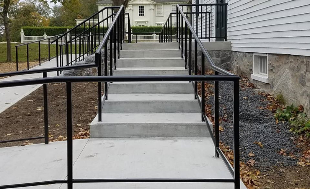 Iron Handrails Photos At Maine Architectural Ironworks