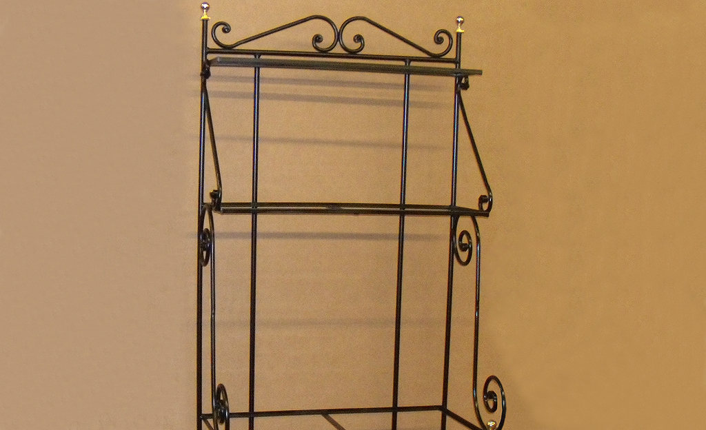 Custom Iron Baker's Rack