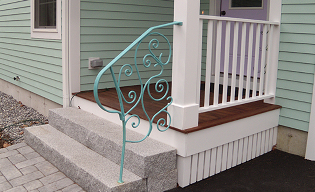 Custom Iron Fancy Handrail