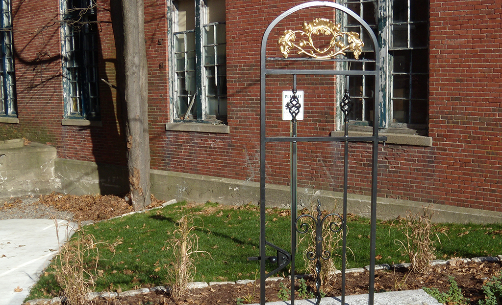 Custom Architectural Iron Gate