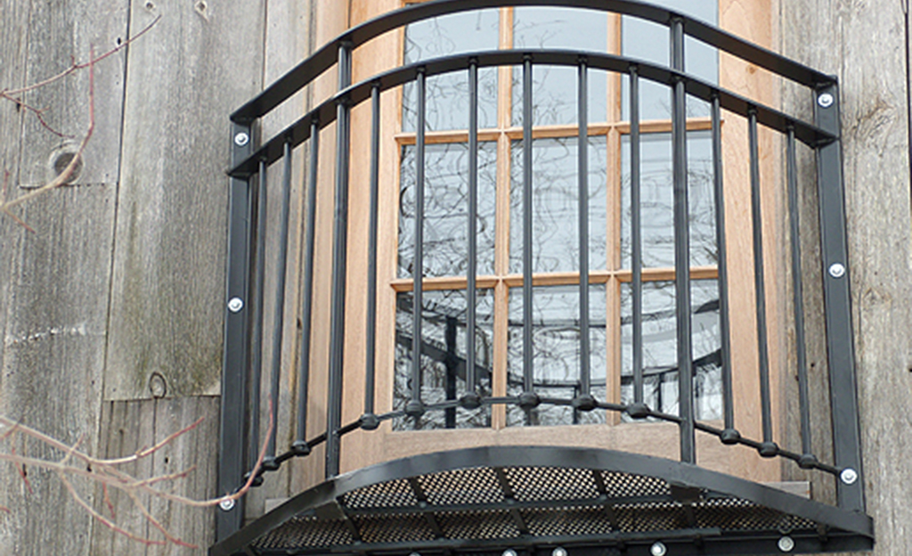 Custom Iron Juliet Balcony