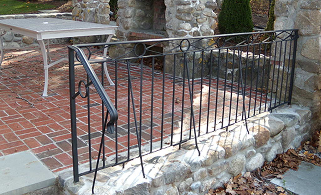Custom Patio Railing
