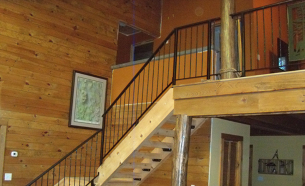 Custom Iron Railings