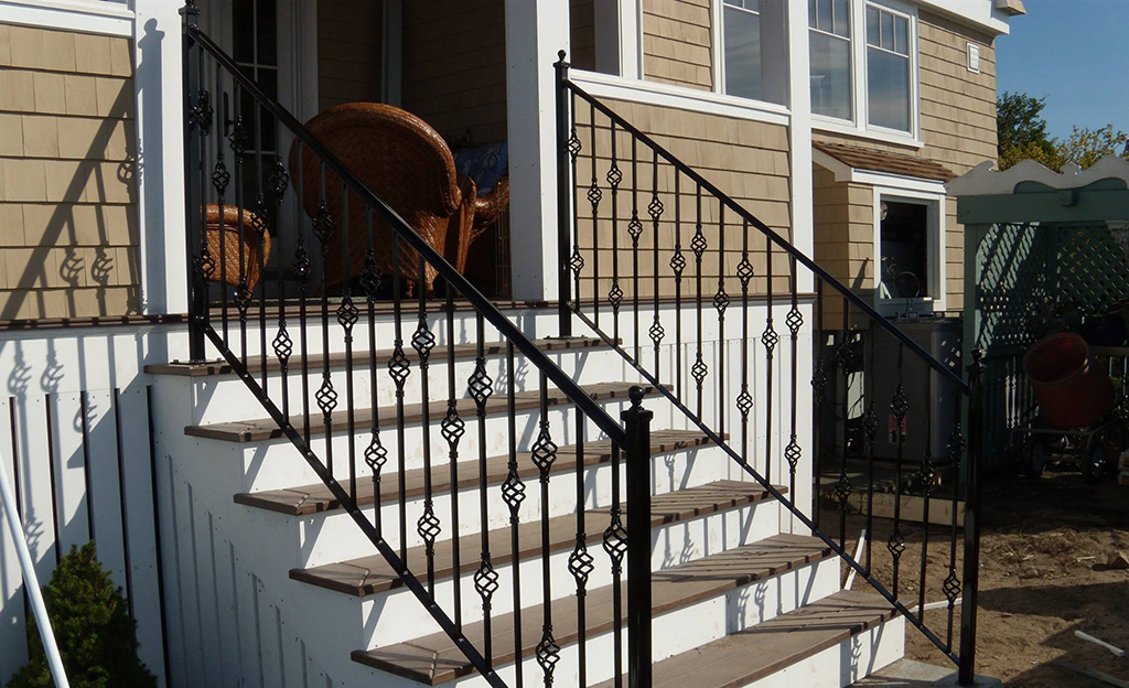 Decorative Iron Handrails